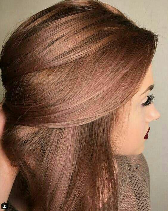 ترکیب رنگ موی زیبا با عکس