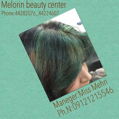 آموزش رنگ مو ترکیبی