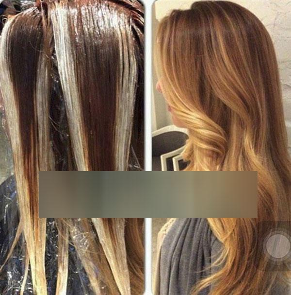 انواع رنگ مو های لایت و ژورنالی مولی - هافلایت - مون لایت - لایت های شیک و جدید