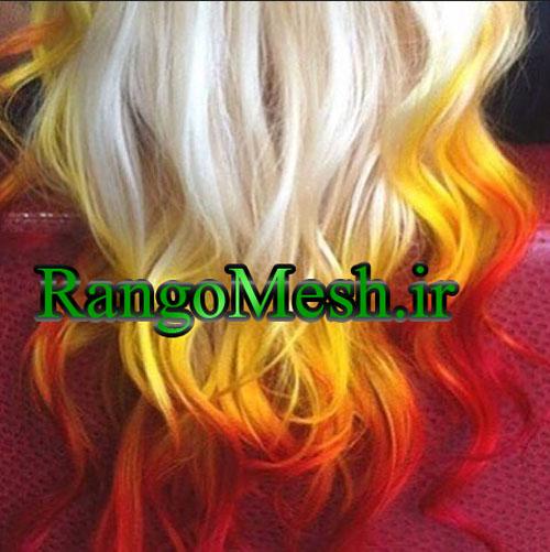 حدیث آریا متخصص ترکیب رنگ مو