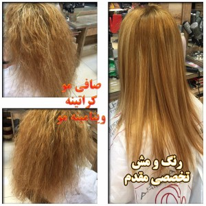متخصص رنگ و مش و مو
