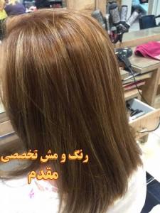 بهترین آرایشگاه رنگ و مش در تهران