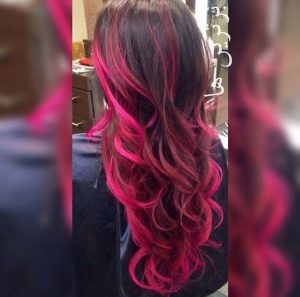 مرکز تخصصی رنگ و مش مو در ونک