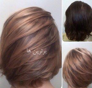 آموزش رنگ موهای فانتزی