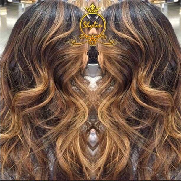آرایشگاه حرفه ای برای رنگ مو