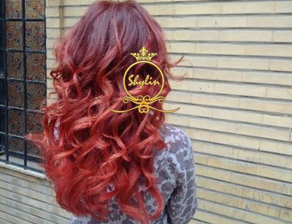آرایشگاه واسه رنگ مو