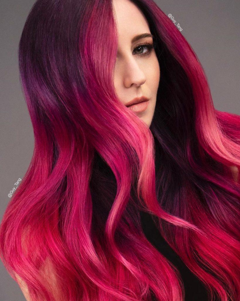 دوره رنگ مو ، شامپو شیمایی در رنگ مو ، رنگ مو با مدرک ، استفاده از واریانسیون ، برند های رنگ مو