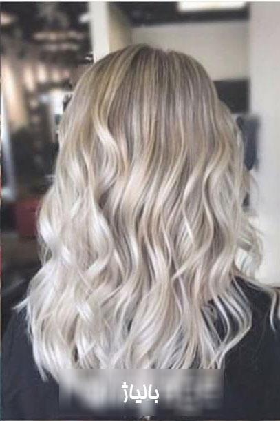مدل رنگ مو با تکنیک بالیاژ