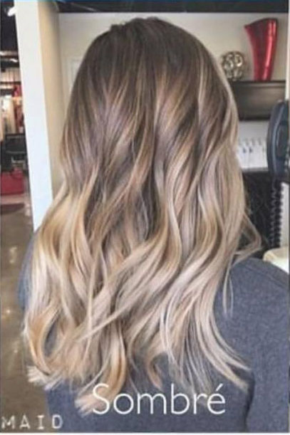 مدل رنگ مو جدید تکنیک رنگ مو آمبره