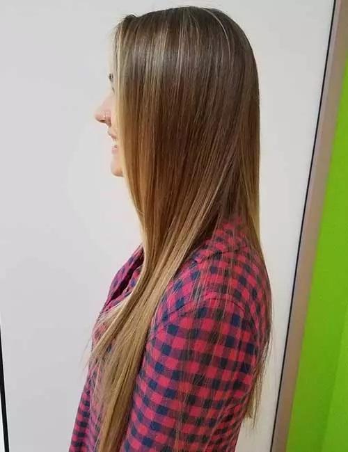 12-رنگ مو بیبی لایت قهوه ای روشن