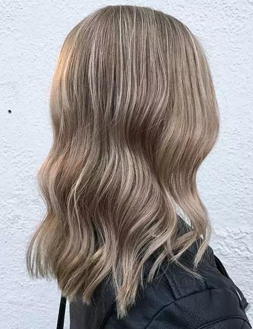 13-رنگ موی قهوه ای خاکستری روشن