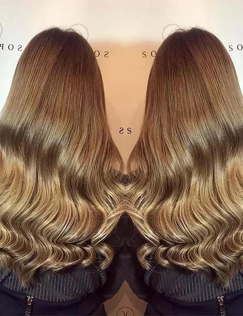 4-رنگ موی قهوه ای-مشکی روشن