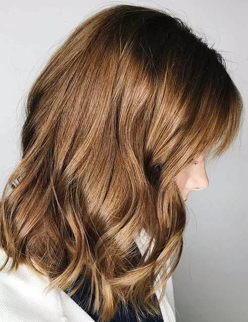 5-رنگ موی قهوه ای شکلاتی کم رنگ