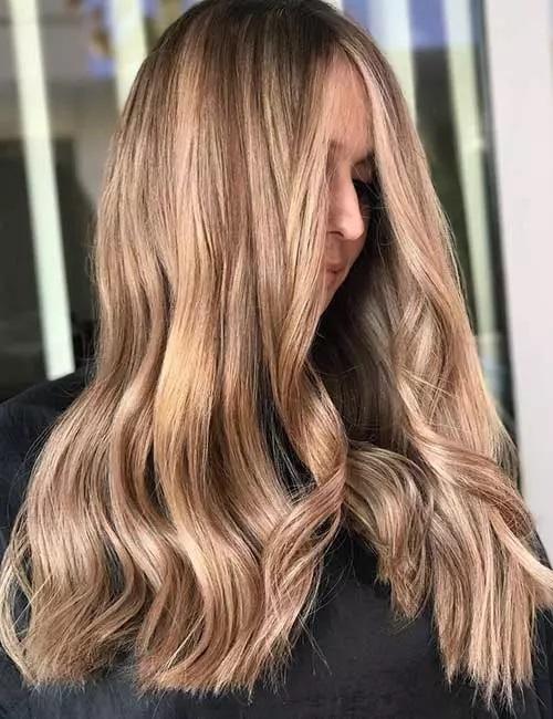 9-رنگ موی قهوه ای شنی کمرنگ